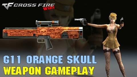 CrossFire - G11 Orange Skull - Weapon Gameplay