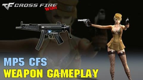 CrossFire - MP5 CFS - Weapon Gameplay
