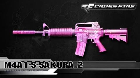 CrossFire China M4A1-S Sakura 2 ☆-0