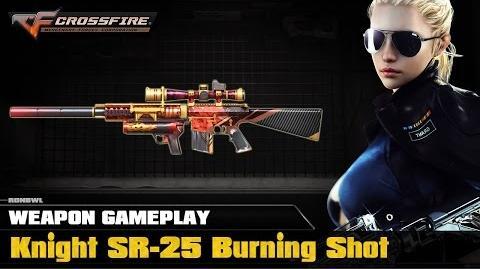 CrossFire VN - Knight SR-25 Burning Shot