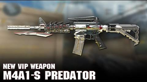 New VIP Weapon M4A1-S Predator (VIP)
