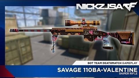 Savage 110BA-Valentine CROSSFIRE China 2