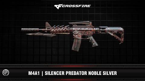 CF M4A1 Silencer Predator Noble Silver