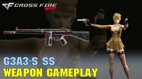 CrossFire -G3A3-S SS - Weapon Gameplay