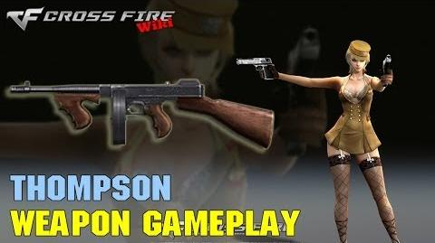 CrossFire - Thompson - Weapon Gameplay