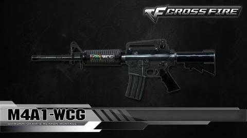 CrossFire Vietnam M4A1-WCG ☆-0