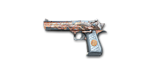 Desert Eagle Immotal Dragon Noble Silver