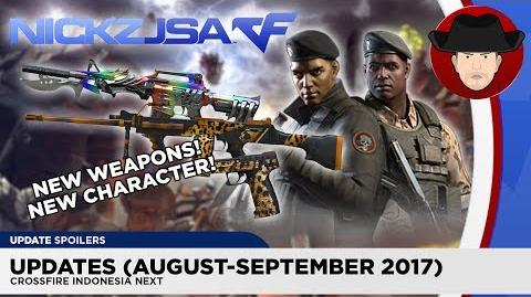NickzJSA.CF/CrossFire Indonesia: August-September 2017 Updates