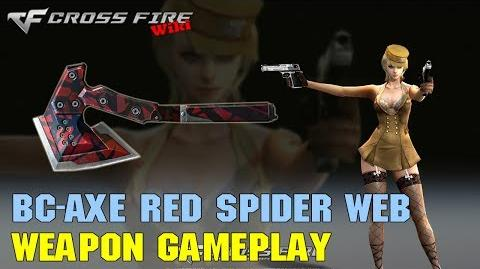 CrossFire - BC-Axe Red Spider Web - Weapon Gameplay