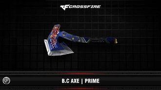 CF B.C Axe Prime