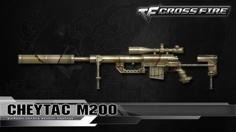 CrossFire China Cheytac M200 ☆