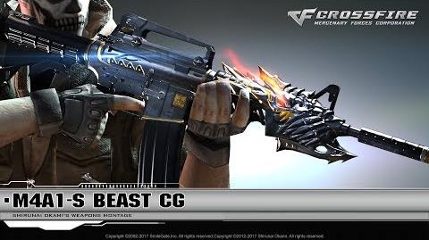 CrossFire Promotion M4A1-S Beast (CG)