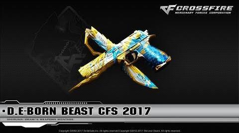CrossFire China D.E-Born Beast CFS 2017