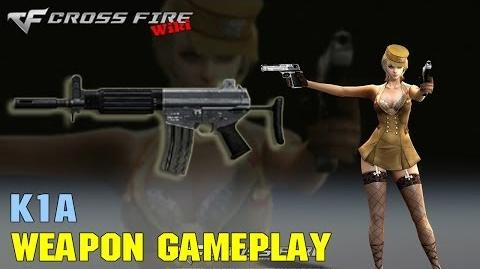 CrossFire - K1A - Weapon Gameplay