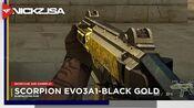 Scorpion EVO3A1-Black Gold CROSSFIRE China