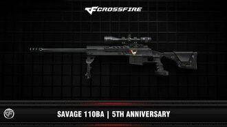 CF Savagae 110BA 5th Anniversary