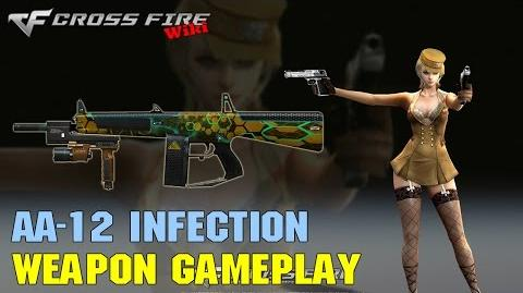 CrossFire - AA-12 Infection - Weapon Gameplay