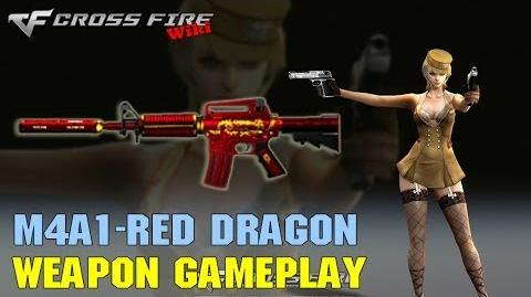 CrossFire - M4A1 Red Dragon - Weapon Gameplay