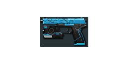 MK23 BlueCrack