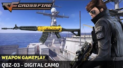 CrossFire - QBZ-03 - Digital Camo