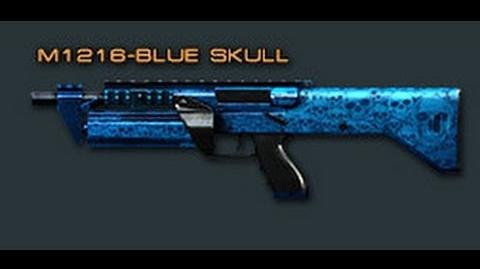 Cross Fire China M1216-Blue Skull Review!