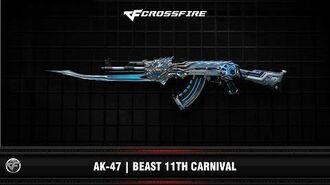 CF AK-47 Beast 11th Carnival