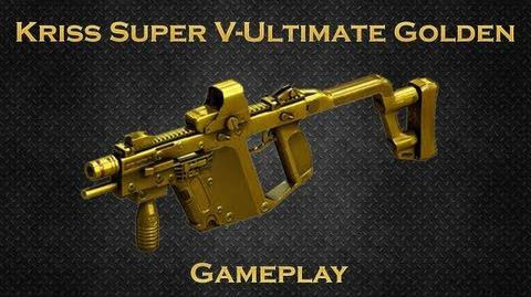 CrossFire CN Kriss Super V-Ultimate Gold Gameplay