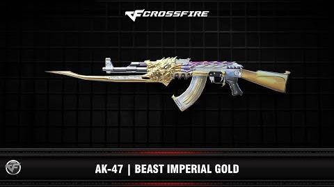 CF AK-47 Beast Imperial Gold