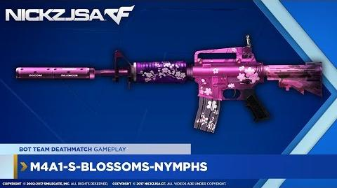 M4A1-S-Blossoms-Nymphs CROSSFIRE China 2