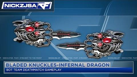Bladed Knuckles-Infernal Dragon - CROSSFIRE China 2.0