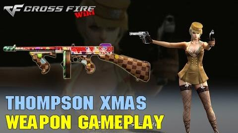 CrossFire - Thompson Xmas - Weapon Gameplay