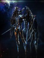 Devil terminator in space wow O o