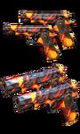 Dual Colt Volcano