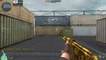 AK47 GOLD BLACK DRAGON HUD