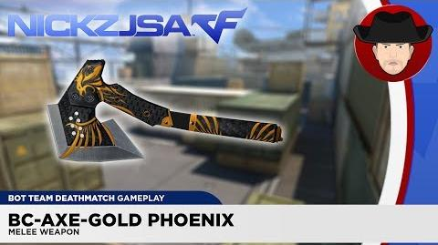 BC-Axe-Gold Phoenix - CROSSFIRE China 2.0 (EXP)