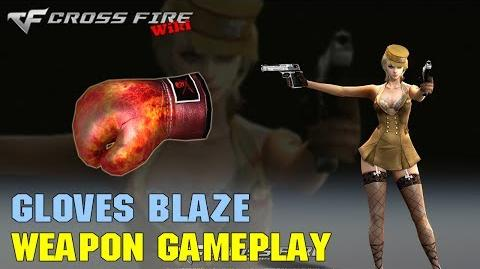 CrossFire - Boxing Gloves Blaze - Weapon Gameplay