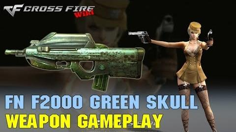 CrossFire - FN F2000 Green Skull - Weapon Gameplay