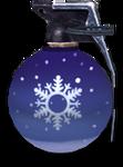 Snowflake grenade render