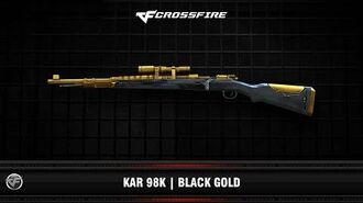CF Kar 98K Black Gold
