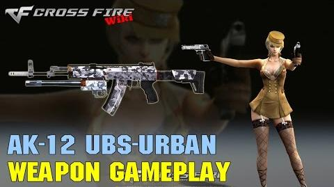 CrossFire - AK-12 Urban - Weapon Gameplay