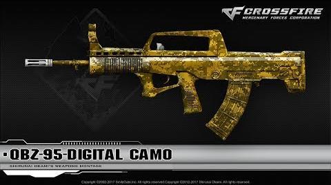 CrossFire China QBZ-95-Digital Camo