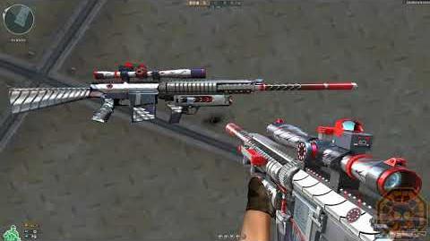Cross Fire China Knight SR25-Burning Shot Titan!