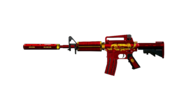 M4A1 S Red Dragon