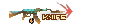 SHOT WEAPON AK47 Knife TurtleShell 4th KNIFE