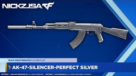 AK-47-Silencer-Perfect Silver CROSSFIRE Indonesia 2.0