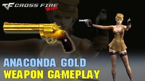 CrossFire - Anaconda Gold - Weapon Gameplay