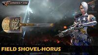 CrossFire Vietnam Field Shovel-Horus