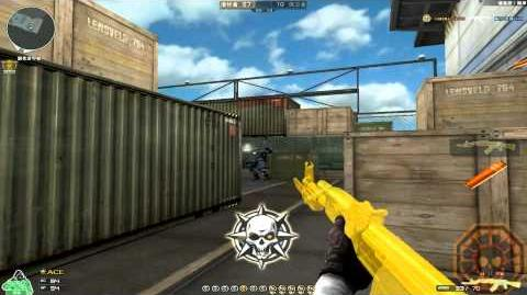 Cross Fire China AK-47 Knife Yellow Crystal & Grenade-Yellow Crystal GamePlay !