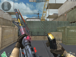 M4A1 S RED KNIFE BEAST HUD (4)