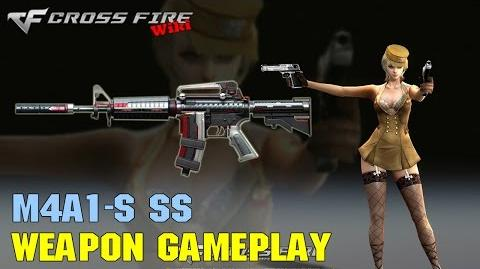 CrossFire - M4A1-S SS - Weapon Gameplay